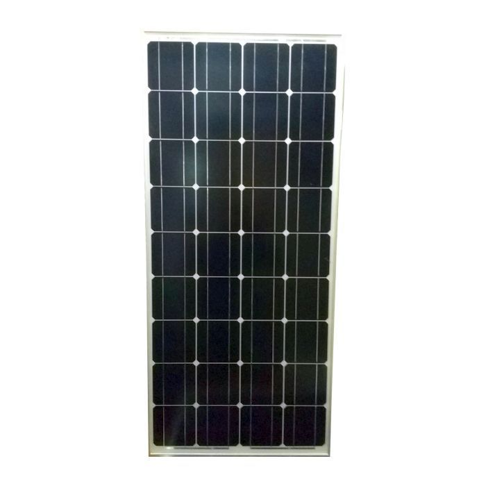 100w 12v monocrystalline solar panel kit mono pro watt for Panneau solaire plug and play