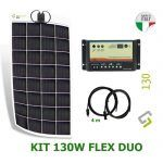 Kit solar flexible barco