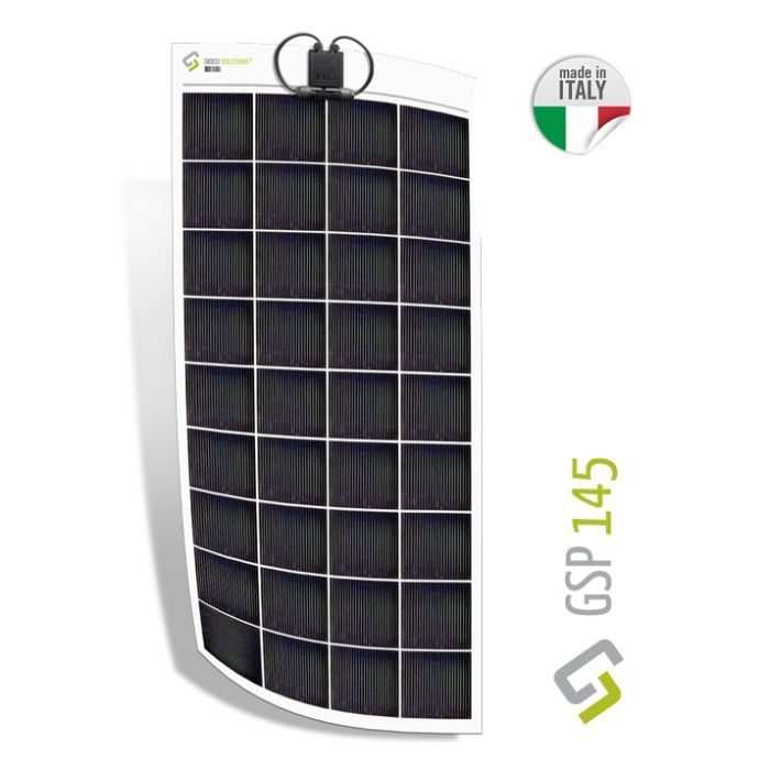 Placa solar flexible