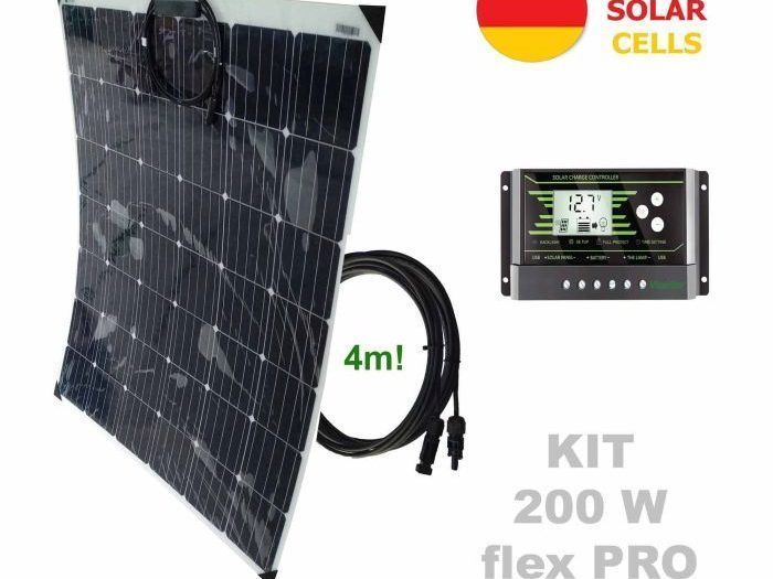 Kit solar flexible
